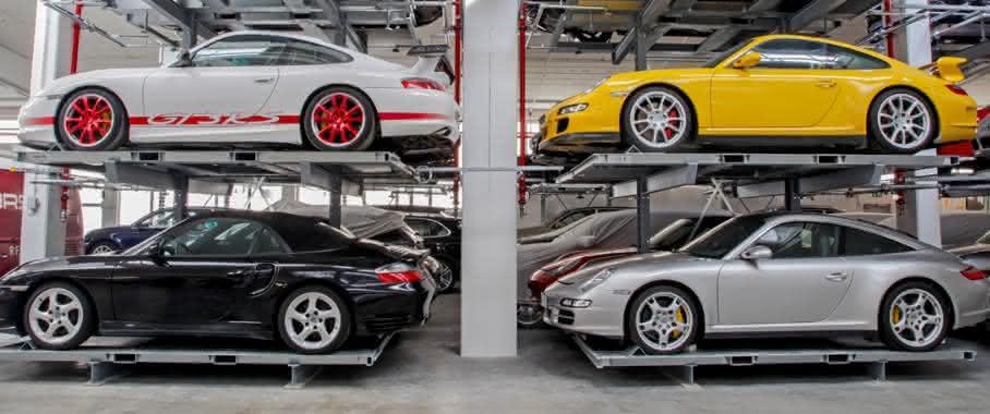 Porsche im Fahrzeugmuseum