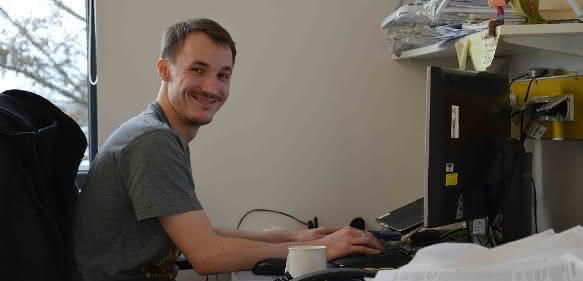Philipp Rausch, Max-Planck Institut für Evolutionsbiologie in Plön