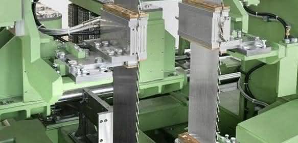 Maschinen- und Anlagen für Sägewerke