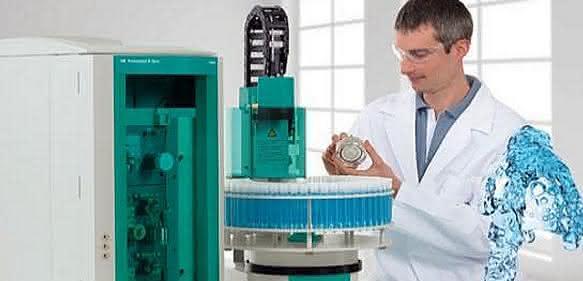 Chromatbestimmung in Trinkwasser
