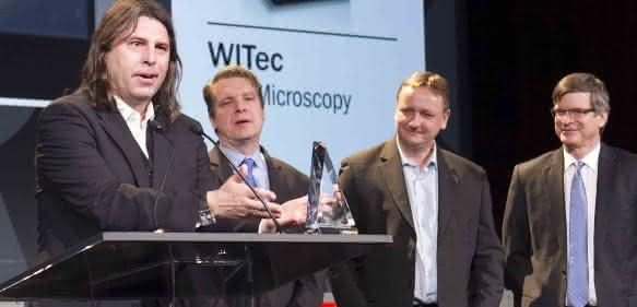 Photonics Prism Award: WITec Mikroskopie gewinnt Preis