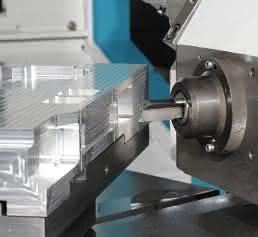 Aluminium-Werkstück für eine Anlage zur Chipherstellung
