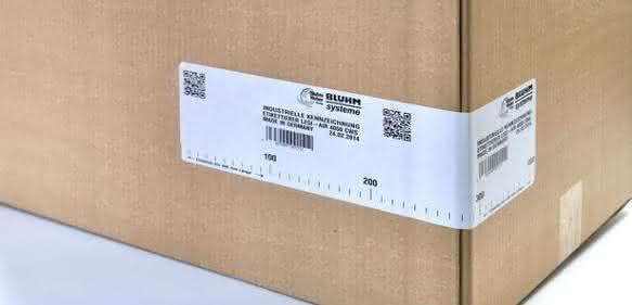 Etikettendruckspender