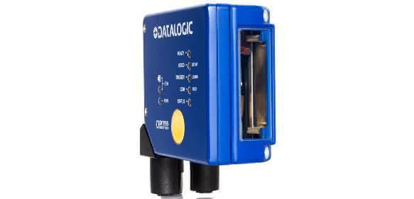 Datalogic mit Laserscanner für geringen Leseabstand: Ohne externe Anschlüsse