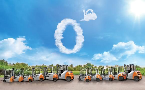 Trotz Trend zu Elektrostaplern: Diesel manchmal alternativlos