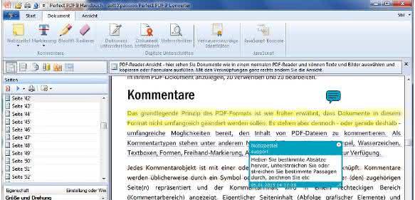 Pdf-Editor und -Converter