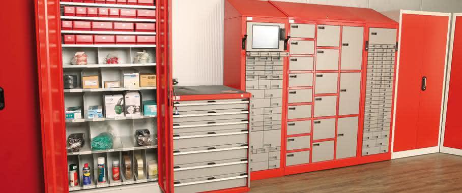 SSV Technik GmbH demonstriert C-Teile-Management: Große Wirkung bei kleinen Teilen