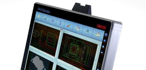 Multitouch-Terminals der SH Blackline