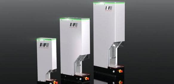 Servopressen der Aipress-Baureihe von IEF-Werner