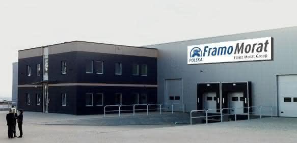 Produktionshalle im Invest Park von Nowa Ruda