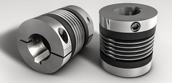 Miniatur-Metallbalgkupplungen von R+W