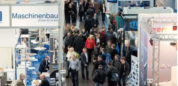 Fachmesse Intec in Leipzig