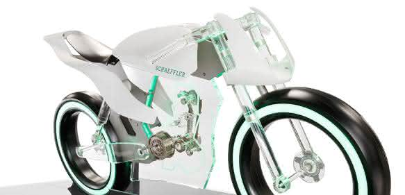 Konzeptmotorrad von Schaeffler