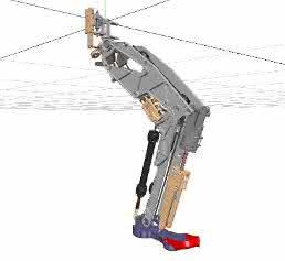 Bein für Roboter Byron