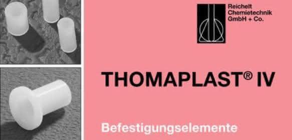 Befestigen und Verschließen: Handbuch THOMAPLAST® IV