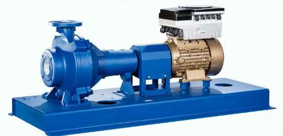 Abwasserpumpe der Baureihe Sewatec mit SuPremE-Motor