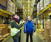 Der Tag der Logistik macht es möglich: Blick in die Kulisse