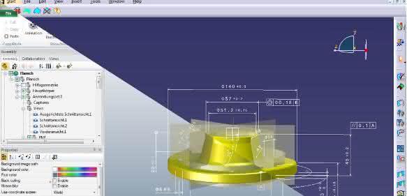 Product Lifecycle Management: Vergleich von CAD-Datenständen