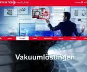 Die neue Vakuumlösungsseite präsentiert das Portfolio von Pfeiffer Vacuum in einer innovativen Erlebniswelt.