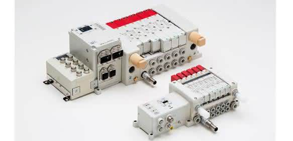 Elektromagnetventile von SMC Pneumatik