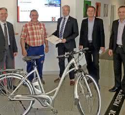Gewinner des E-Bikes