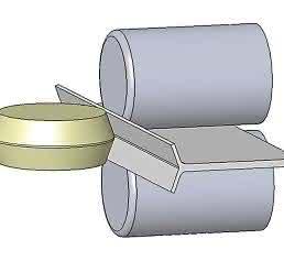 Herstellung des Spaltprofils
