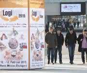 Ausstellerzahl und Fläche wachsen zweistellig: Logimat 2015 erstmals in sieben Messehallen
