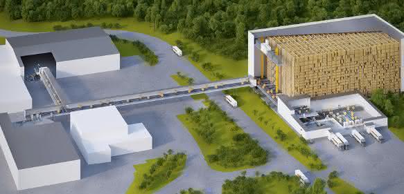 400.000 Hackbällchen in der Stunde suchen Lagerplatz: SSI Schäfer baut für Dafgård