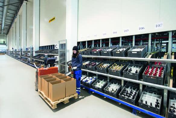 Branchenlösung für Logistik in der norwegischen Getränkeindustrie: Gjelleråsen – Zentrum  geistiger Getränke
