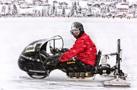 Noch mehr Tempo: Ölbremsen tunen Ice-Handbike: Der Winter kann kommen