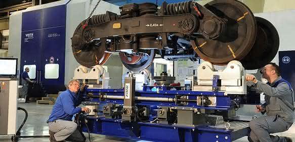 Schienenfahrzeug-Entwicklung bei Voith Engineering Services
