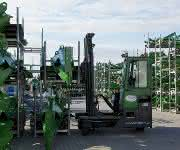 Combilift rüstet Landmaschinenproduktion mit Staplern aus: Iren-Kraft für die Centauren