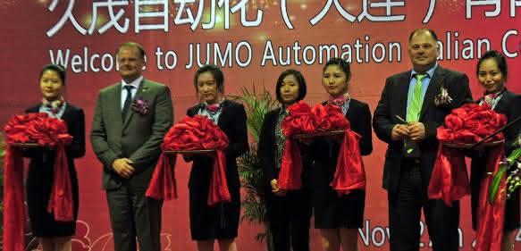 Schlüsselübergabe Jumo in China