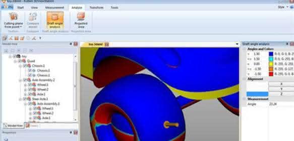 Software: Viewer mit Analysefunktionen
