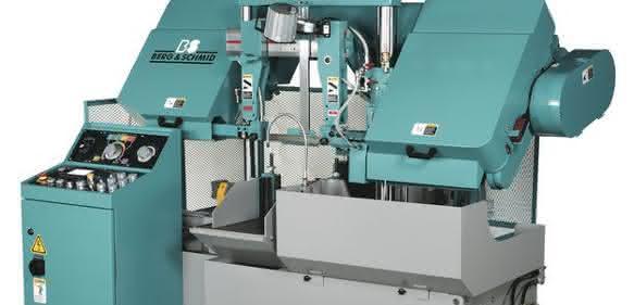 2-Säulen-Hochleistungs-Bandsägemaschinen der Baureihen SBS von Berg & Schmid