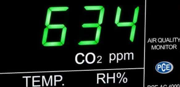 CO2-Anzeige PCE-AC 4000