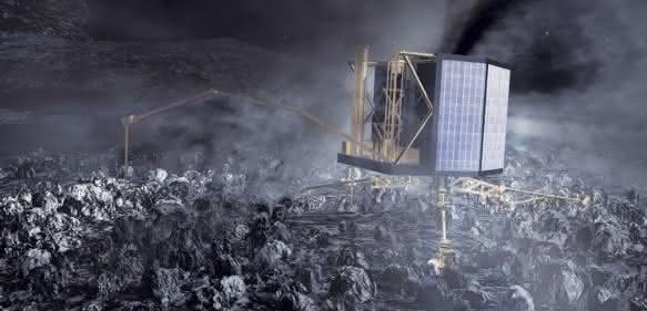 Rosettas Landesonde Philae