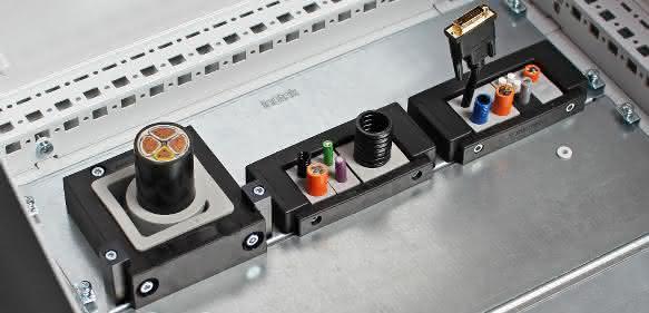 Leitungen in den Schaltschrank: Hilfe bei Kabelmontage