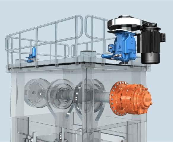 Bosch Rexroth Asynchronmotor
