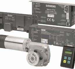 Komponenten von der Steuerung über den Antrieb bis hin zu Eingabemodulen, Leitungen, Zahnriemen und Anbauteilen