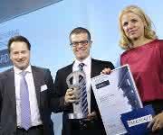 Übergabe MX Award mit Wilhelm Hahn