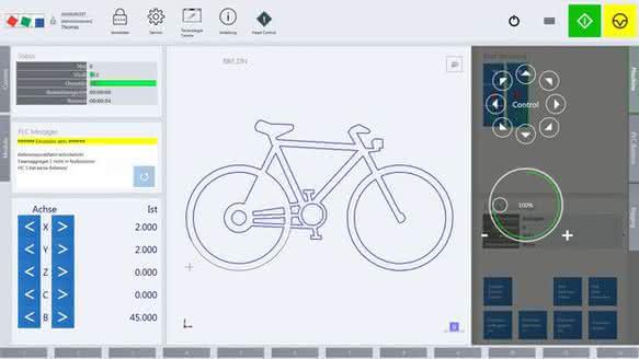 Intuitive Bedienoberfläche mit dem HMI-Frameworks E°Tools HMI