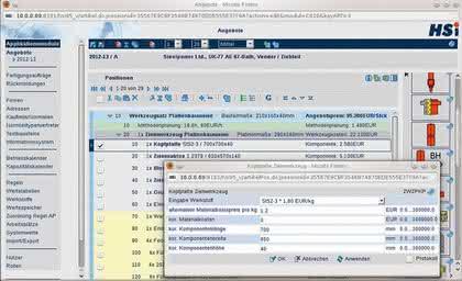 Planungssoftware HS Kalk/WZB von HSi