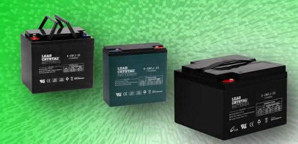 Blei-Kristall-Batterien von Betta Batteries