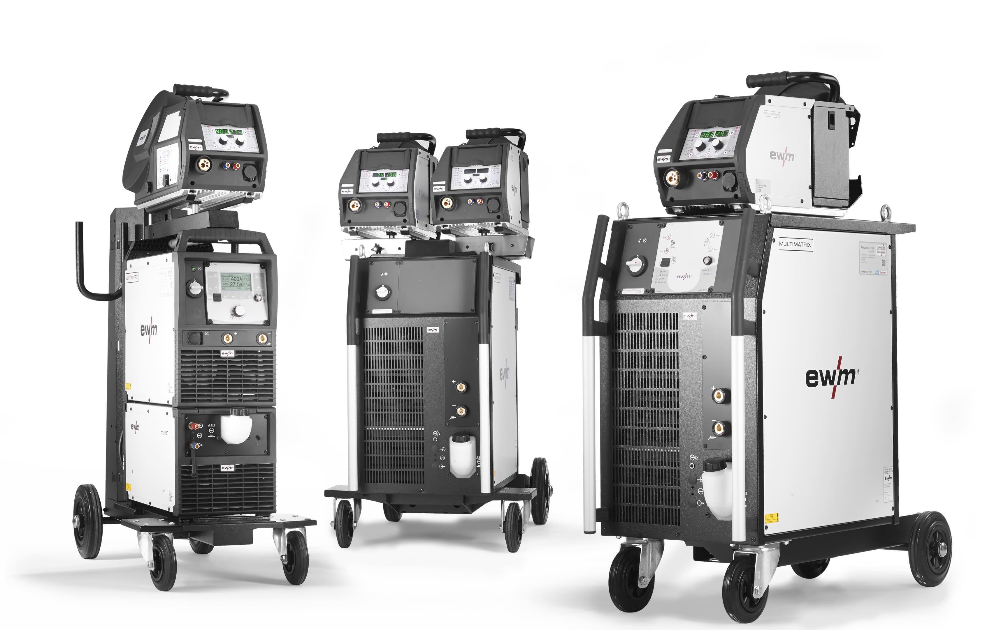 Lichtbogenschweißen: Euroblech 2014: Komplettangebot von EWM steigert Effizienz