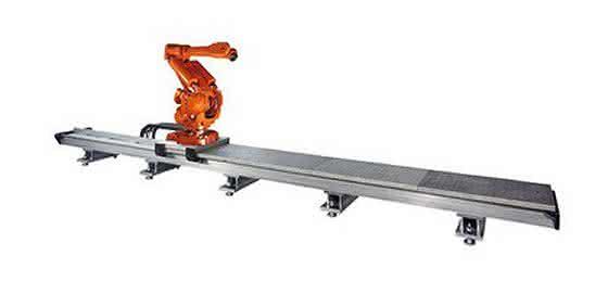 Roboter-Fahrachsen