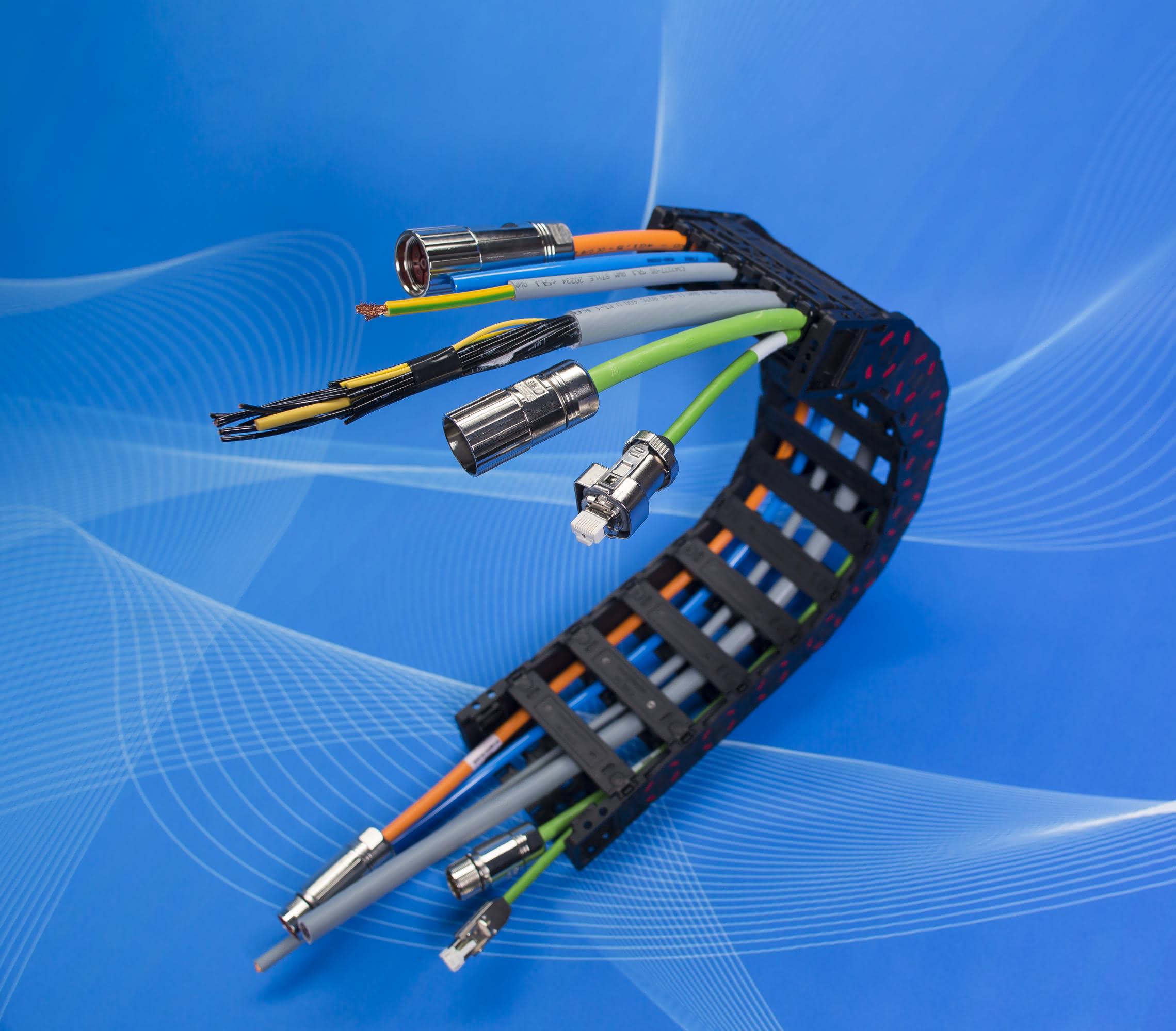 TKD erfolgreich mit Energieketten: Direkt an die Maschine