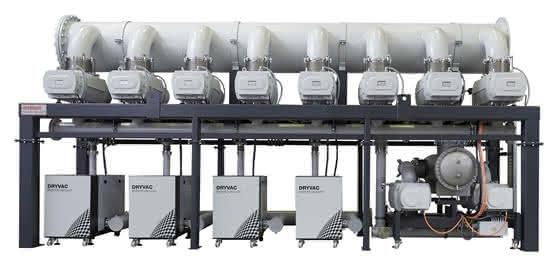 Vakuumtechnologie: Oerlikon Leybold Vacuum stemmt Rekordgröße für eine RH-Stahlentgasungsanlage