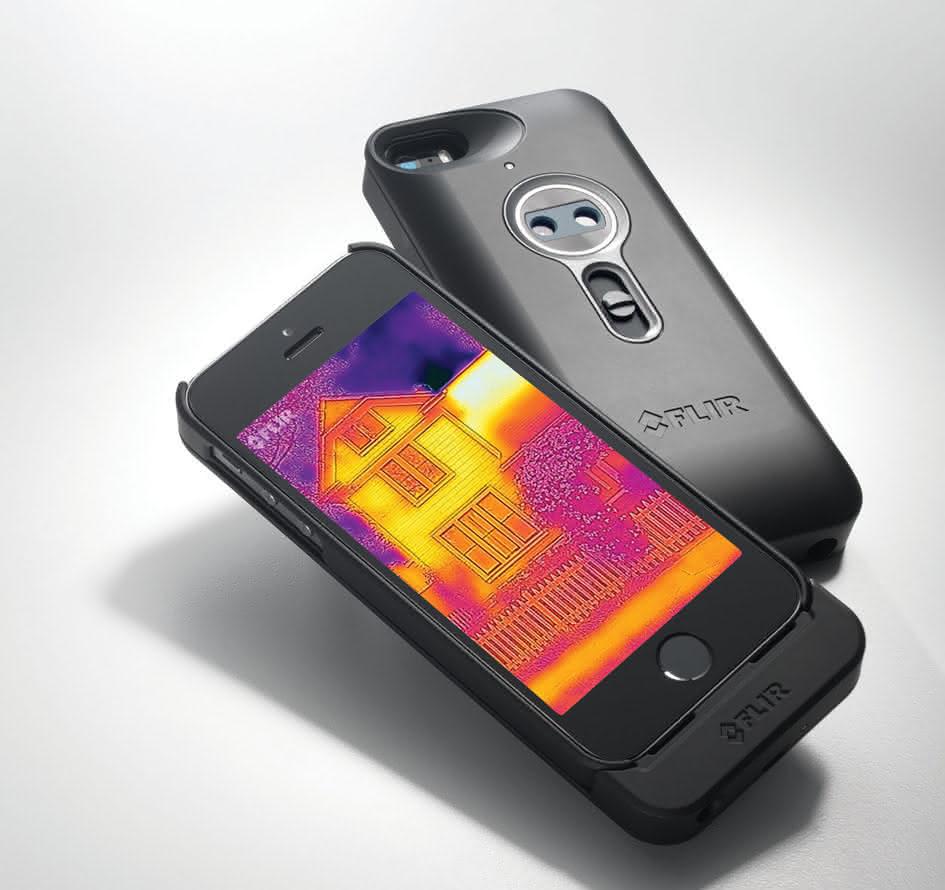 FLIR mit Smartphone-Zubehör: Wärmebild auf dem Iphone