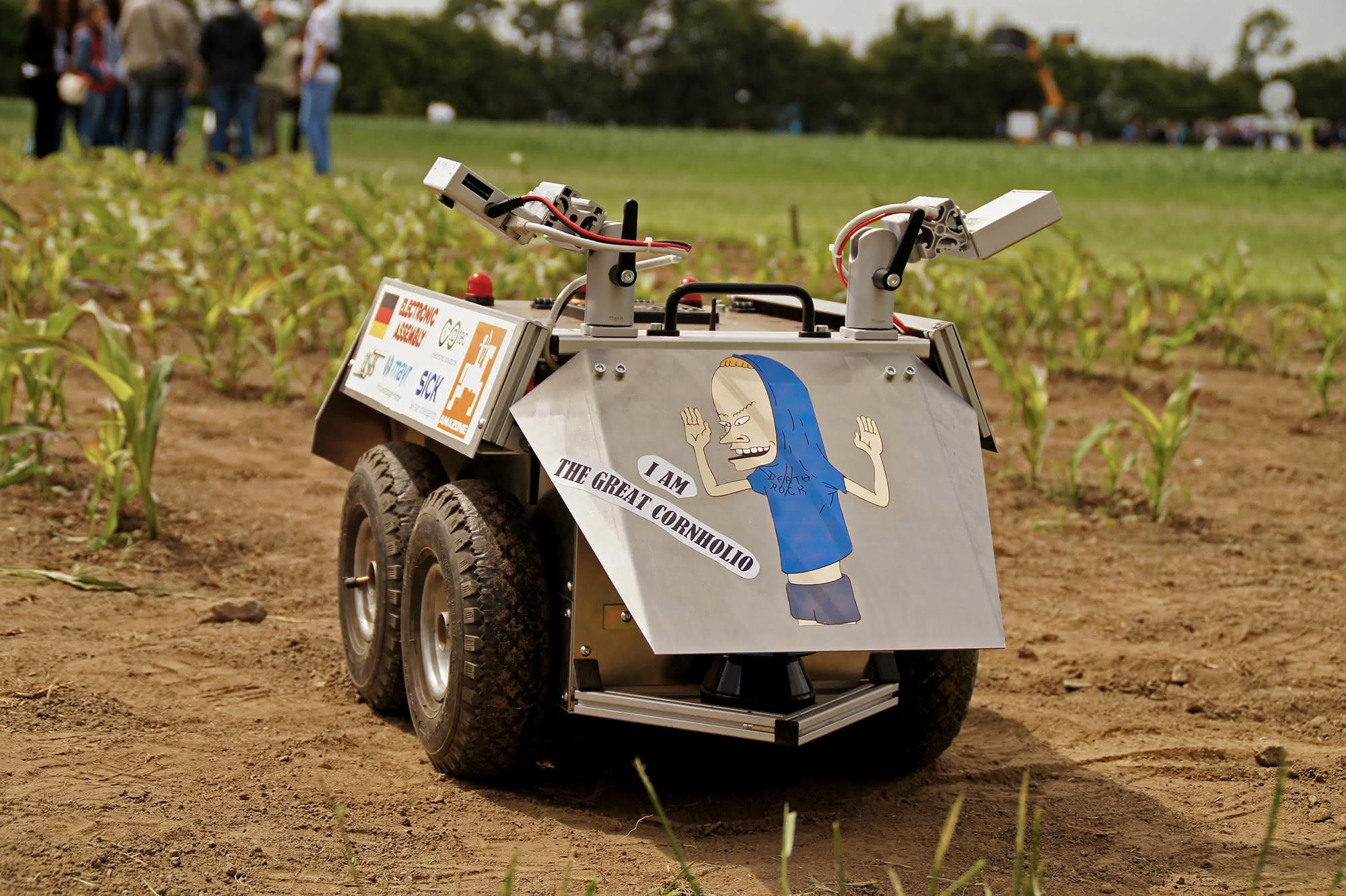 Landwirte aufgepasst: Bald kommen die Feldroboter